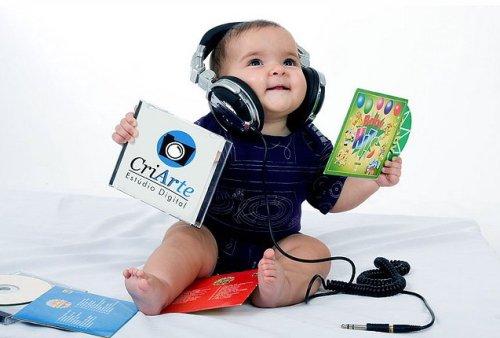 Âm nhạc giúp bé khỏe mạnh và kích thích khả năng sáng tạo