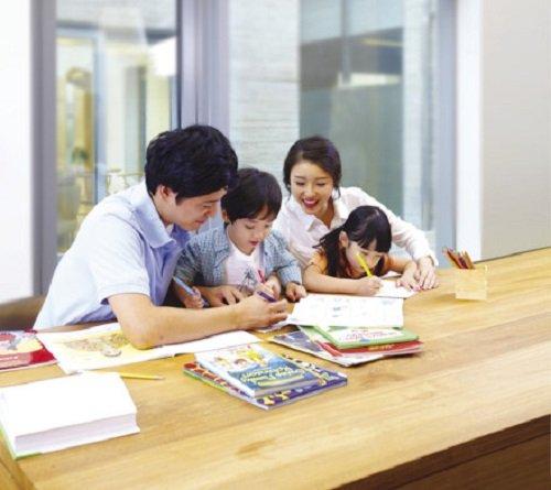 Gia đình là chuẩn mực gương mẫu để cho con trẻ học hỏi thành người