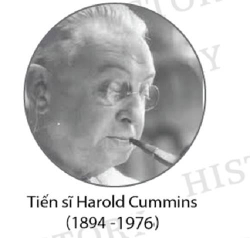 Tiến sĩ Harold Cummins – Cha đẻ ngành sinh trắc vân tay