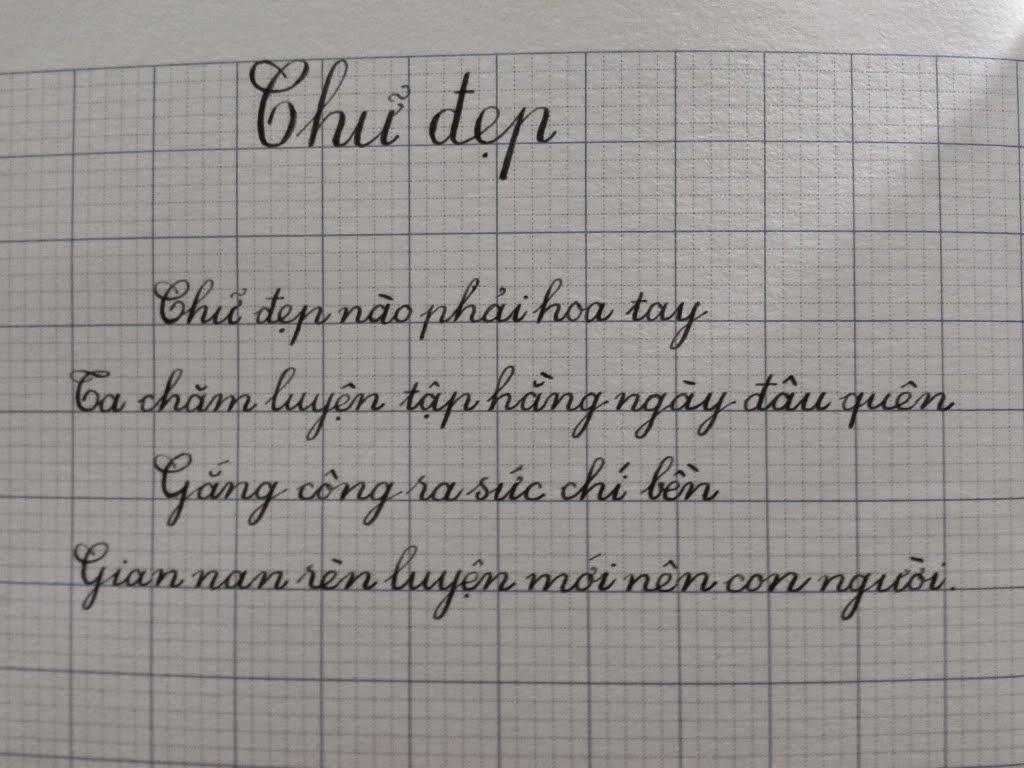 Cách luyện viết chữ đẹp cho bé đúng cách
